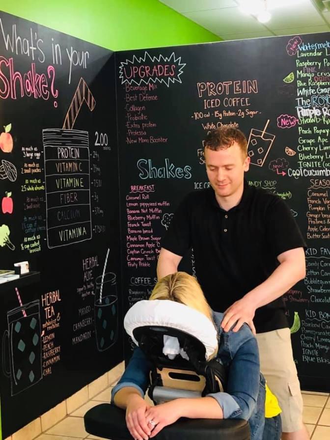 ST Chair Massage Ignite Nutrition